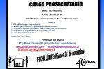 SELECCIÓN Prosecretario- Escuela Secundaria