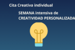 CREATIVIDAD a la CARTA- online